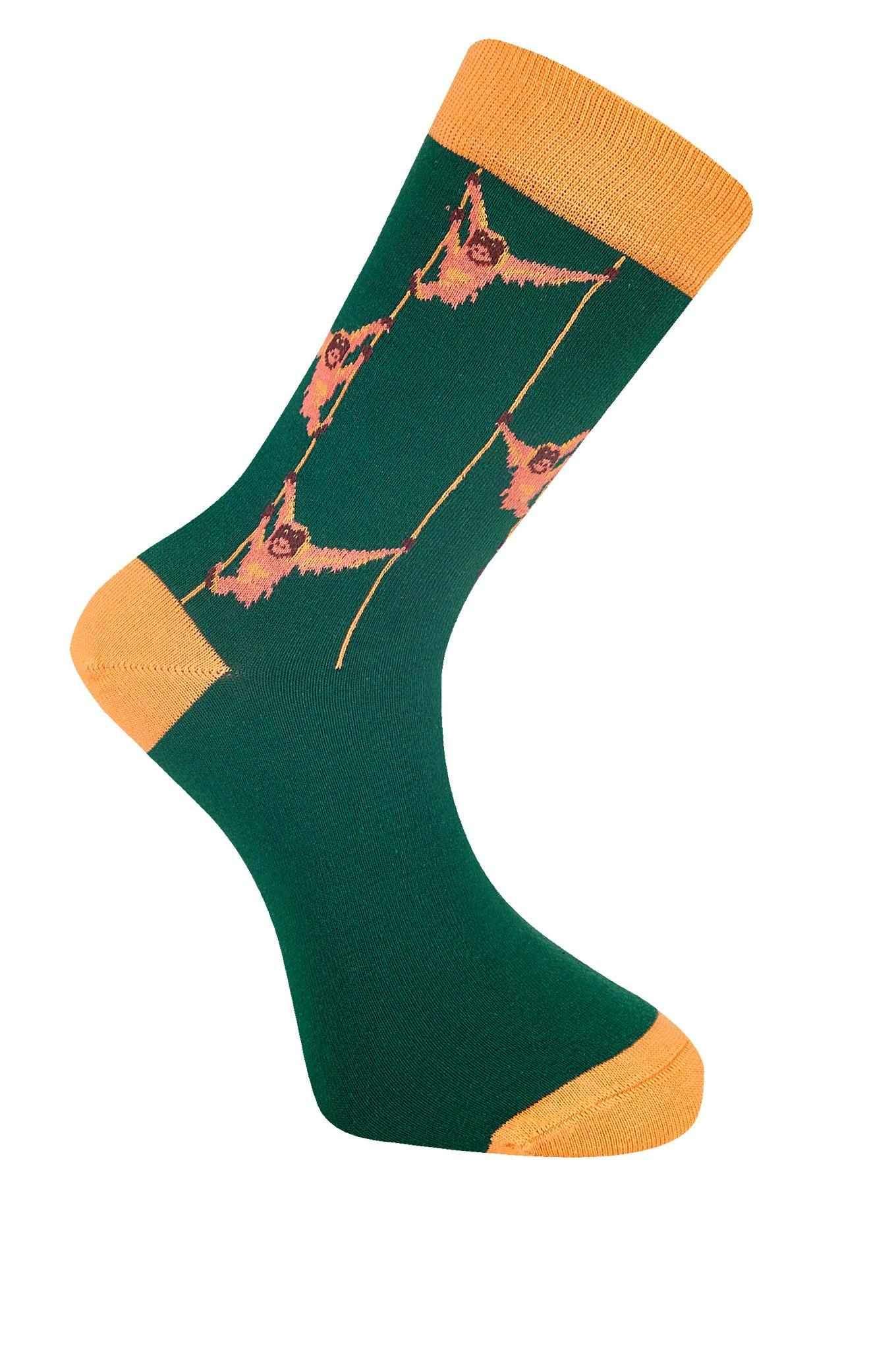 SOS Emerald Organic Cotton Socks - Komodo Fashion