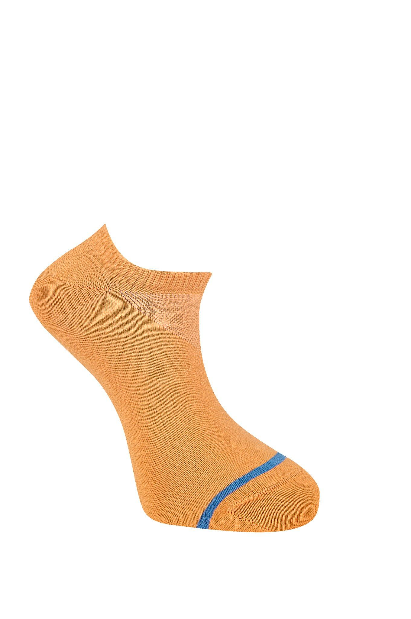 SUN Apricot Organic Cotton Trainer Socks - Komodo Fashion