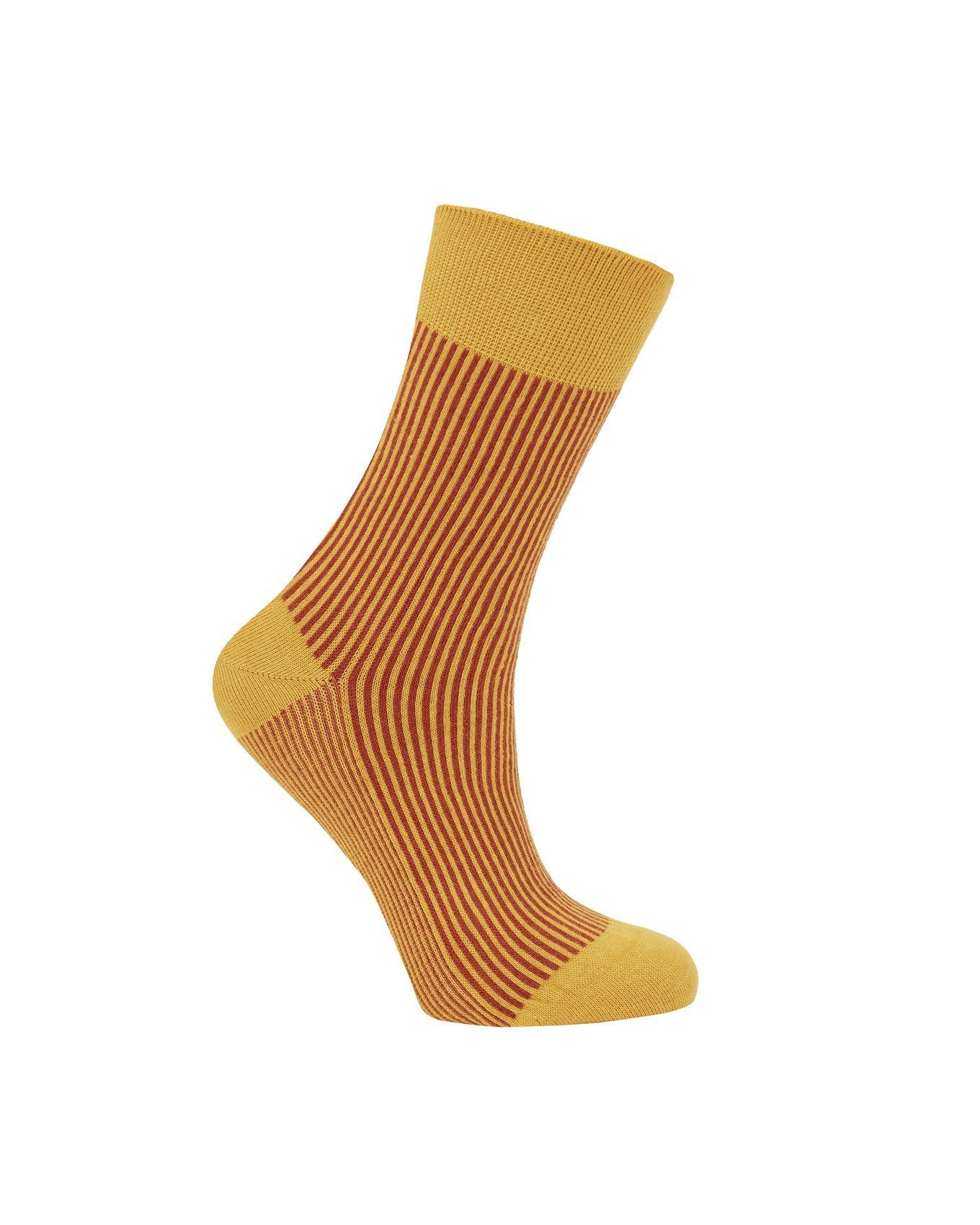 Socks - VERTICAL Gold - GOTS Organic Cotton Socks