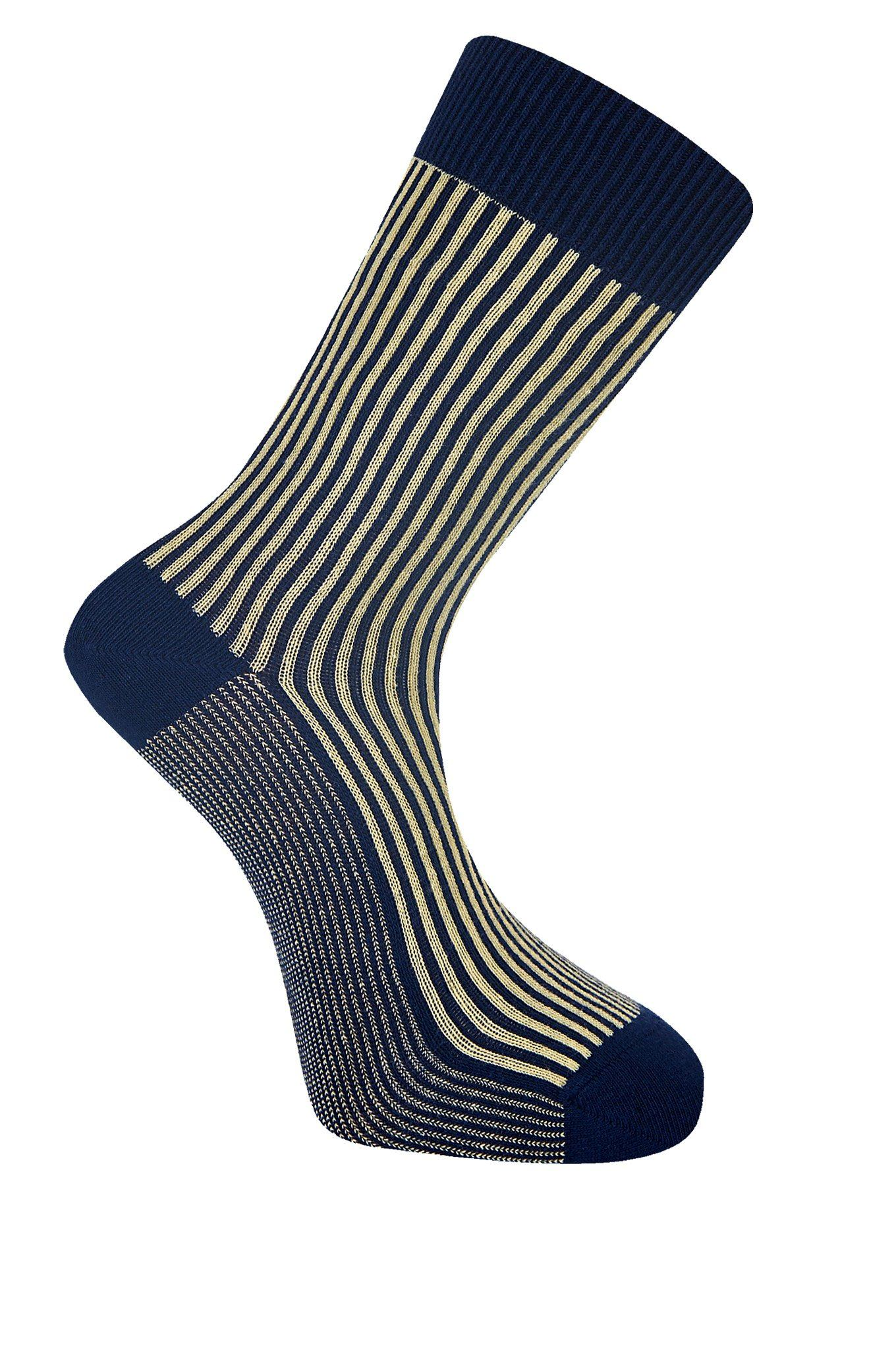 VERTICAL Mimosa Organic Cotton Socks - Komodo Fashion