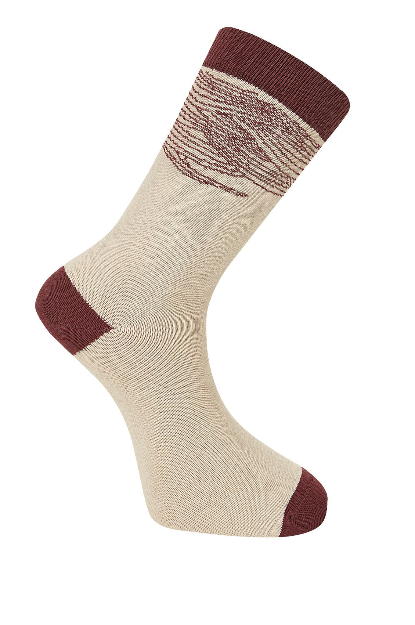 WAVE Camel Organic Cotton Socks - Komodo Fashion