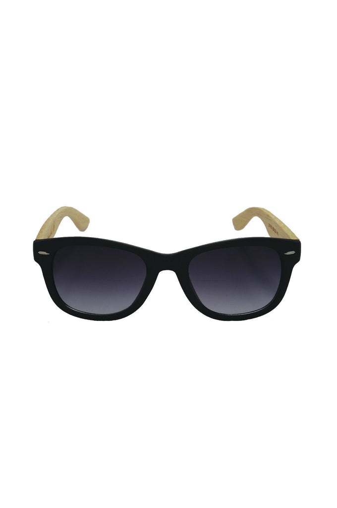 TRENTO Black eco sunglasses by Antonio Verde