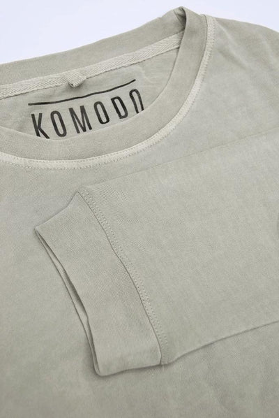 HAKON Organic Cotton T-Shirt Ice Beige - Komodo Fashion