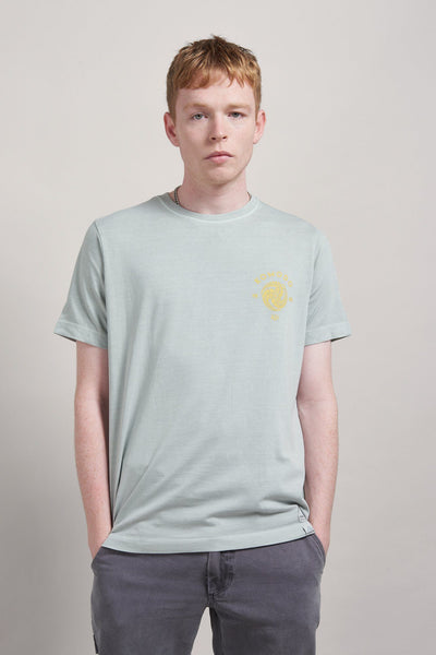 KIN CREST Organic Cotton T-Shirt Dove Grey - Komodo Fashion