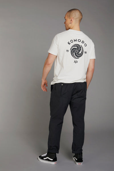 KIN CREST Organic Cotton Tee - Komodo Fashion