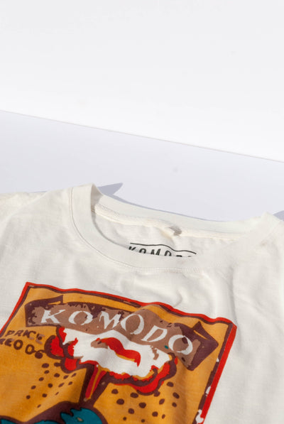 KIN VOLCANO Organic Cotton Tee - Komodo Fashion