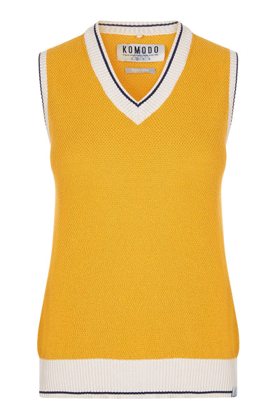 GRAHAM Organic Cotton Tank Top Amber - Komodo Fashion