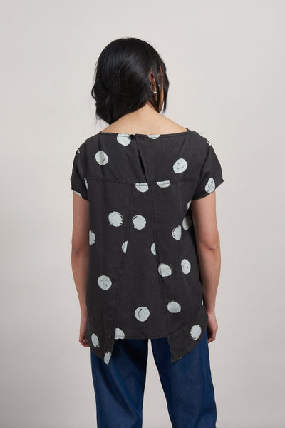 KRISTINN DOT Tencel Linen Top - Komodo Fashion