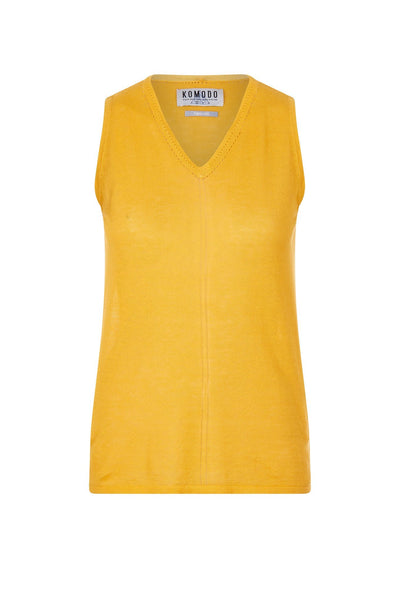 MALA Organic Linen Top Amber - Komodo Fashion