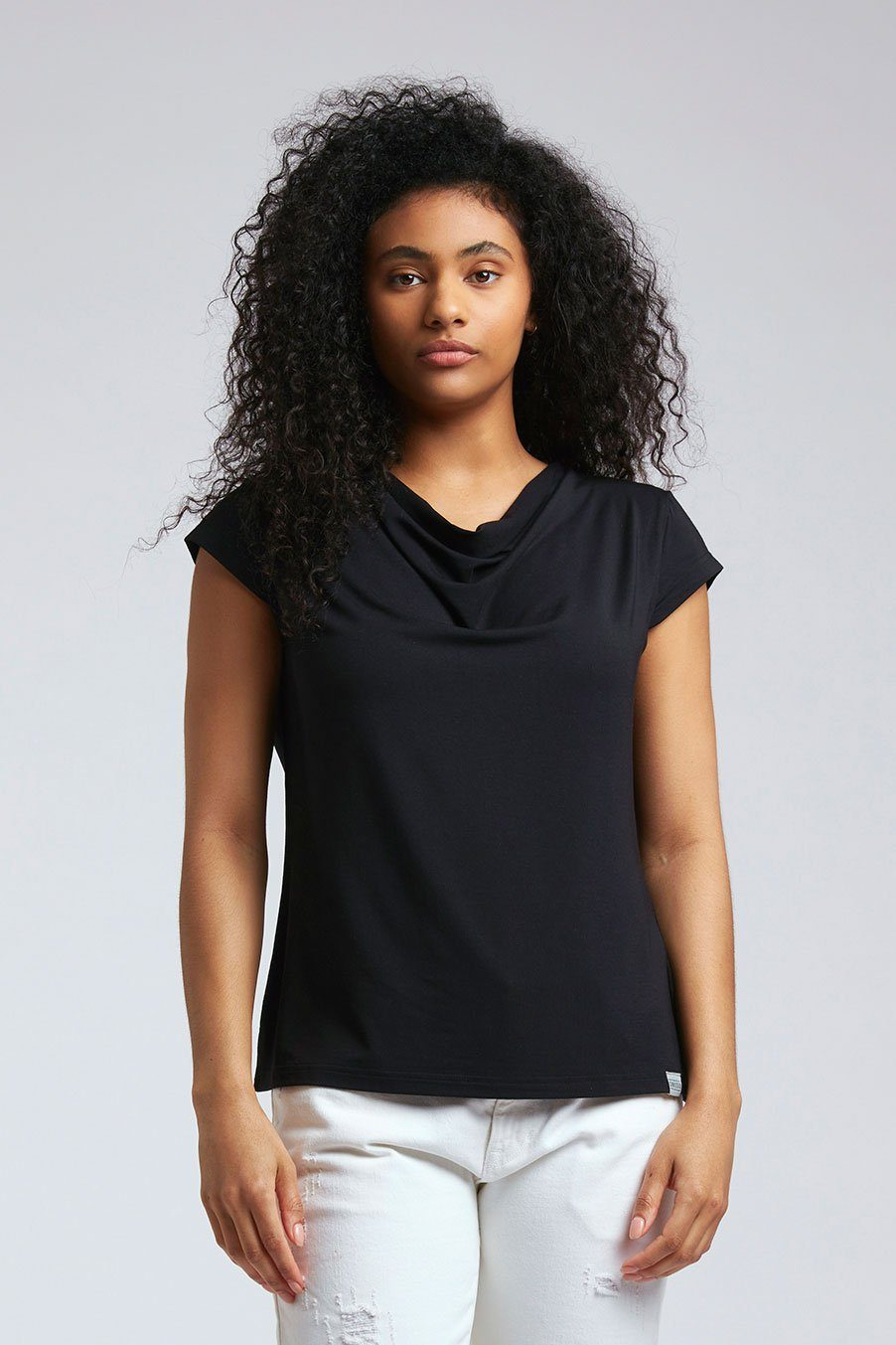 Top - SENSA Modal Top Black
