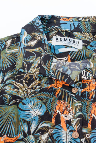 SURF Rayon Shirt SOS Print - Komodo Fashion