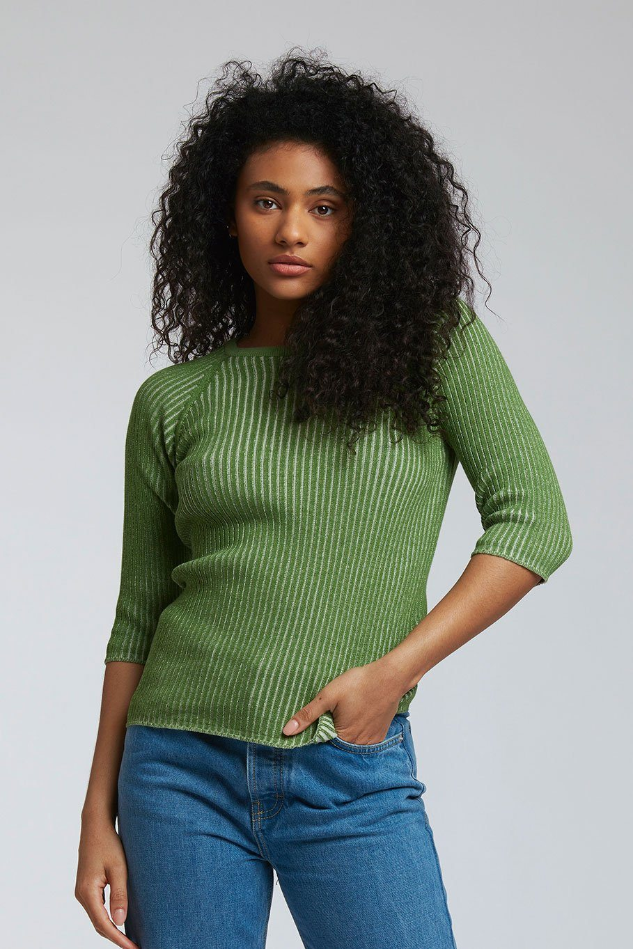 Top - VISTA - GOTS Organic Cotton Top Cactus