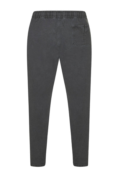Trousers - AGUST Organic Cotton Draw Cord Cargos Coal