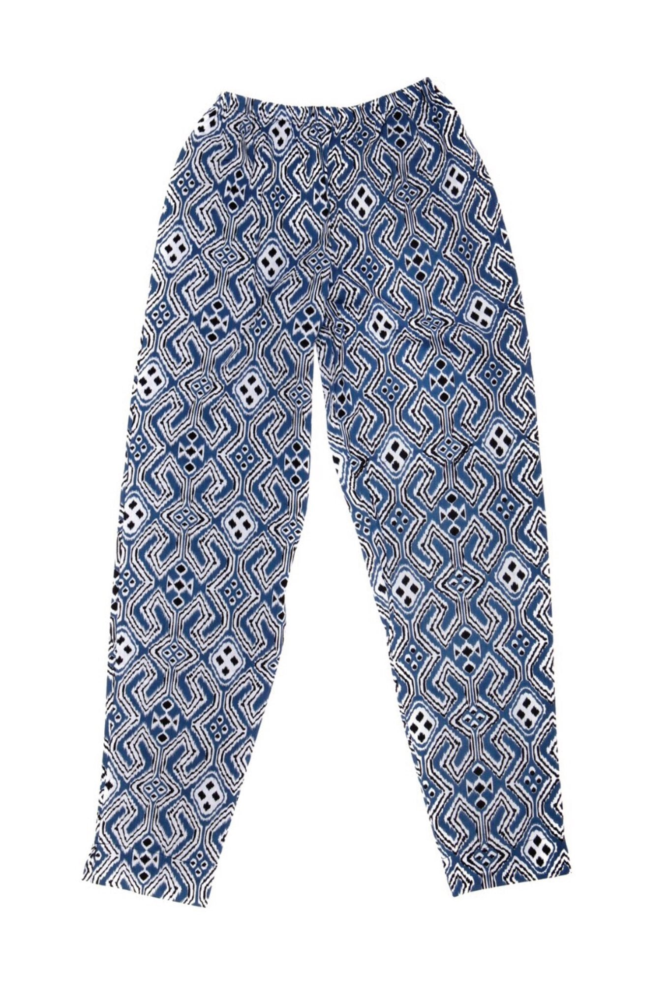 BATIK Trousers Navy - Komodo Fashion