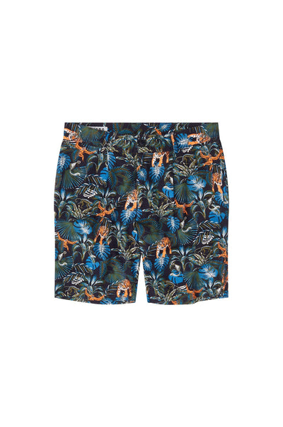 BOBBY Organic Linen Pleat Short SOS Print - Komodo Fashion