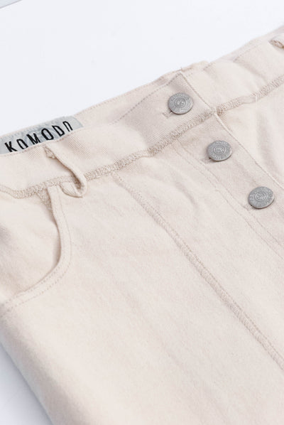 D-SIDE Organic Cotton Jeans Warm Sand - Komodo Fashion