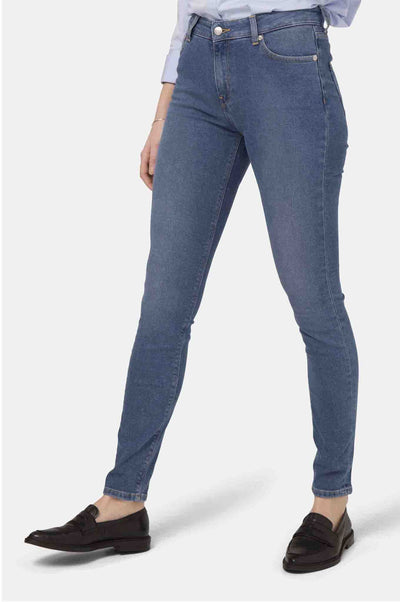HAZEN Women high waist blue jeans by MUD - Komodo Fashion
