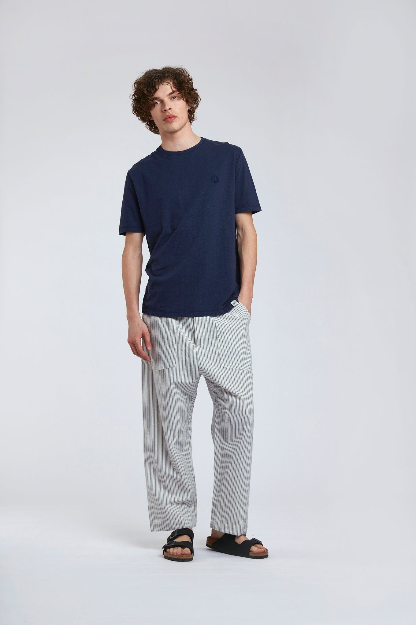 Trousers - MEXICOLA - Organic Cotton Trousers Ink