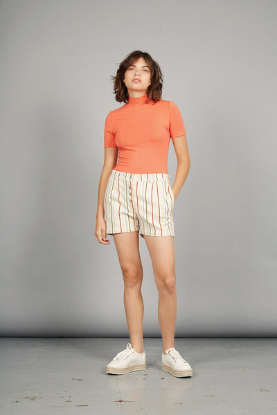 SWINGBOB Organic Cotton Shorts Stripes Print - Komodo Fashion