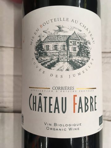 Chateau Fabre Organic Corbieres 2014 Website only offer