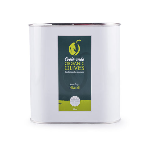 Coolmunda Organic Olives 4 Litre Extra Virgin Olive Oil