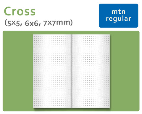 Cross Grid - Ultimate Package for Midori Traveler's Notebook Regular Size