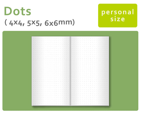 DOTS - Ultimate Package for Midori Traveler's Notebook Personal Size