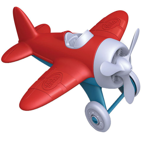 Aeroplane Green Toy