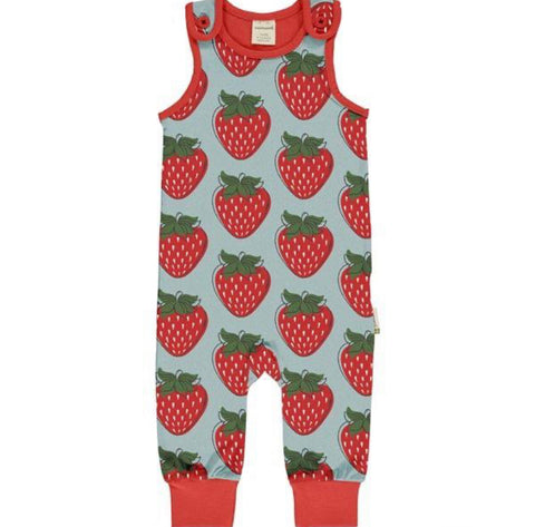 Last Ones Strawberry Playsuit