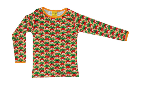 Duns Radish Cantaloupe long sleeve top