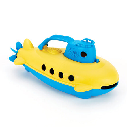 Submarine water play toy
