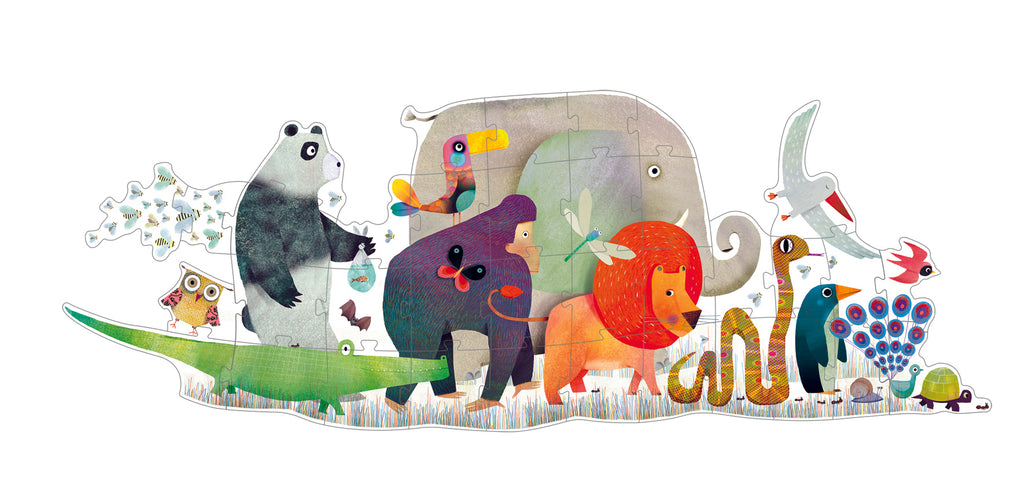 Djeco animal parade puzzle