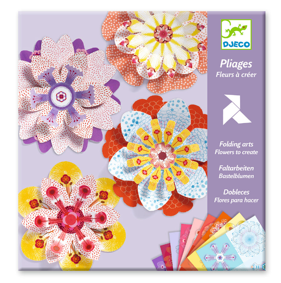 Djeco Paper Flowers To Create