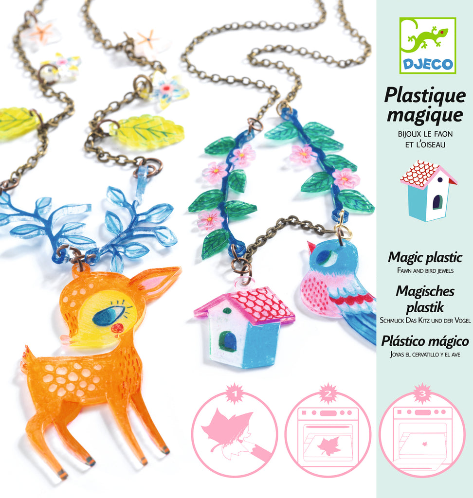 Djeco Magic Jewellery Kit - The Deer & Bird
