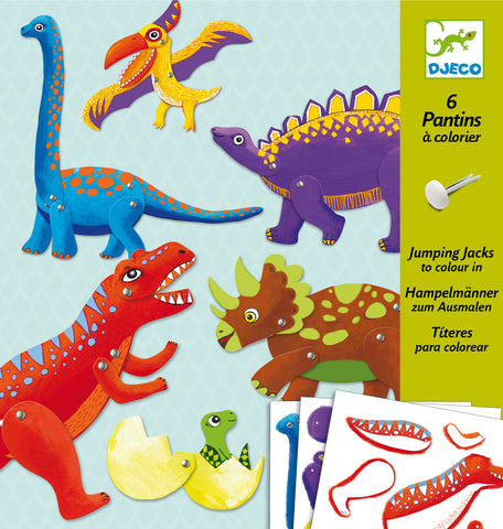 Djeco Jumping Jacks - Dinos