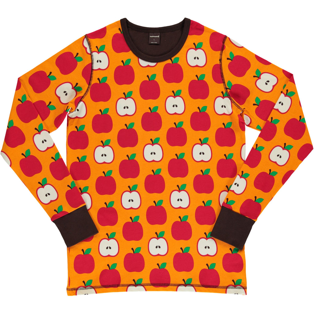 Adult Classic Apples Long Sleeve Top