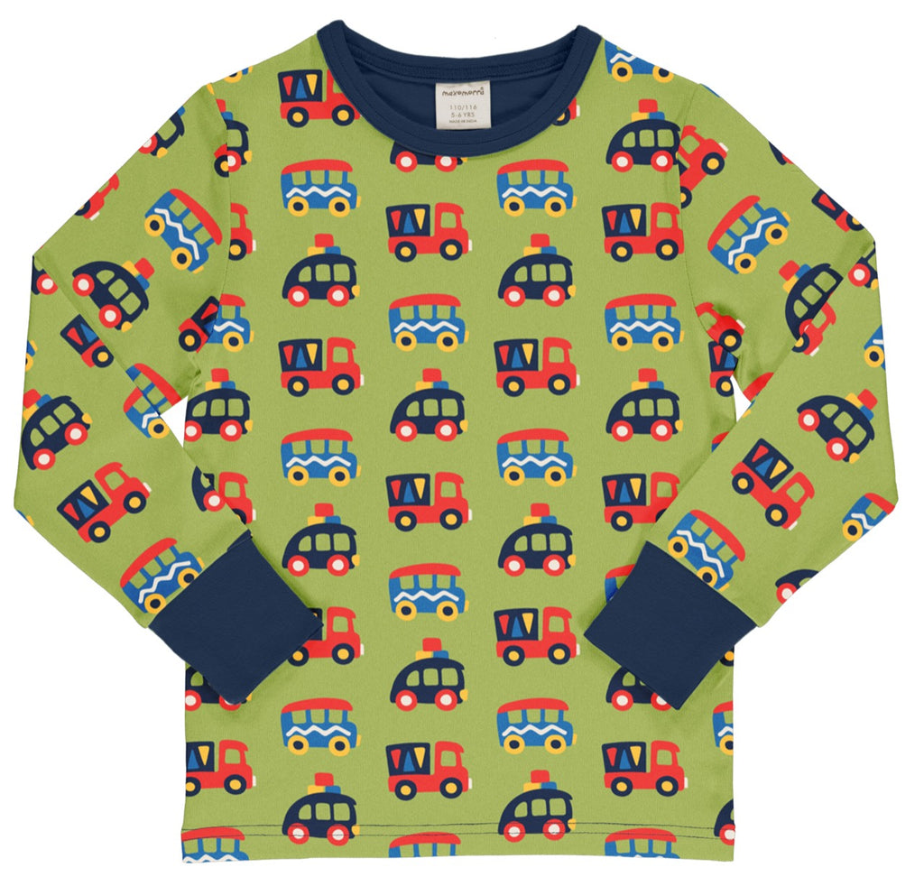 Colourful cars Long Sleeve Top