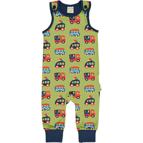Colourful cars Playsuit