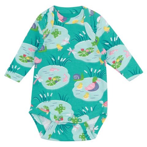Last ones Piccalilly Pondlife Baby Body Suit