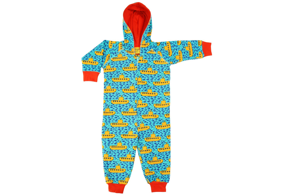 Duns Submarine Hooded Suit Onesie