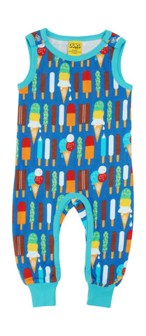 Duns Icecream Blue Dungarees
