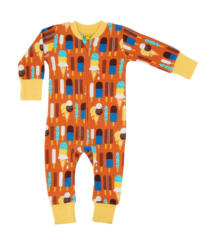 Duns Pumpkin Icecream Zipsuit