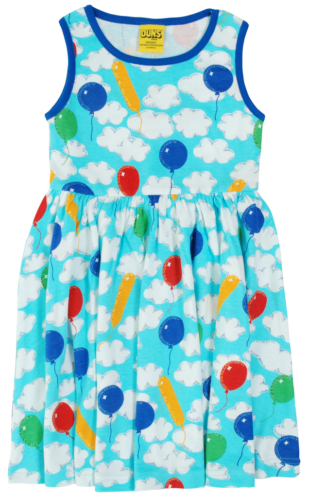 Adult Duns A Cloudy Day Sleeveless Gather Dress