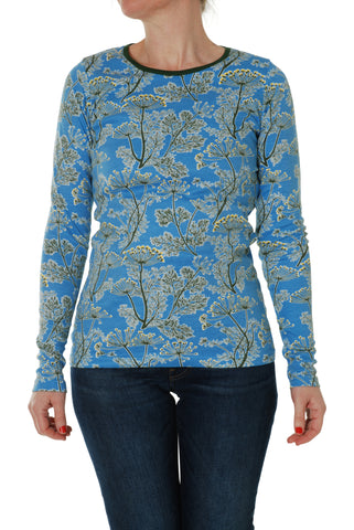 Adult Duns Dill Blue Long Sleeve Top