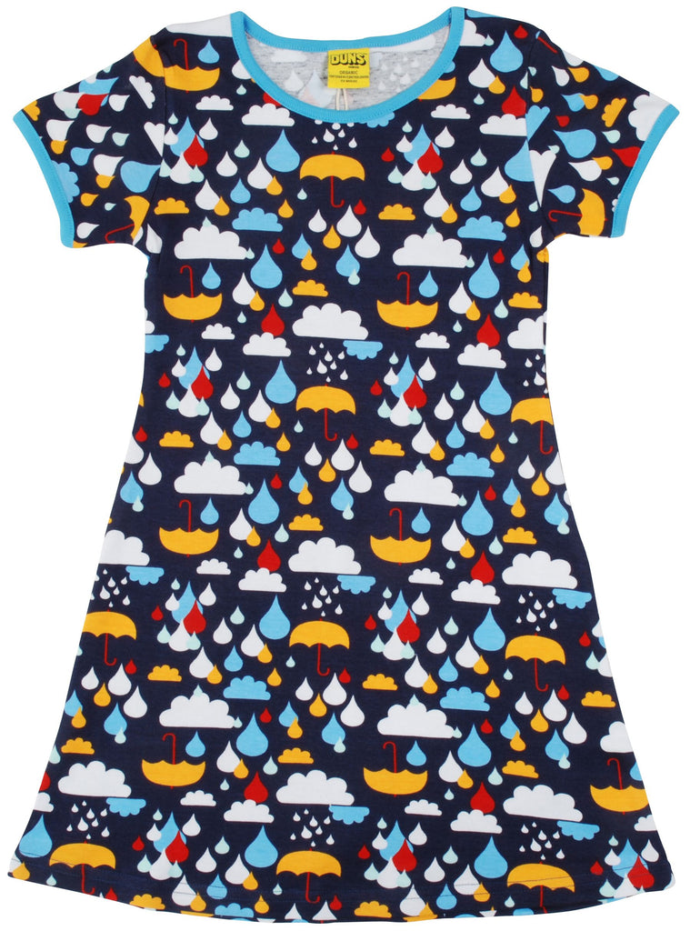 Last Ones Adult Duns A Rainy Day  A-Line Dress