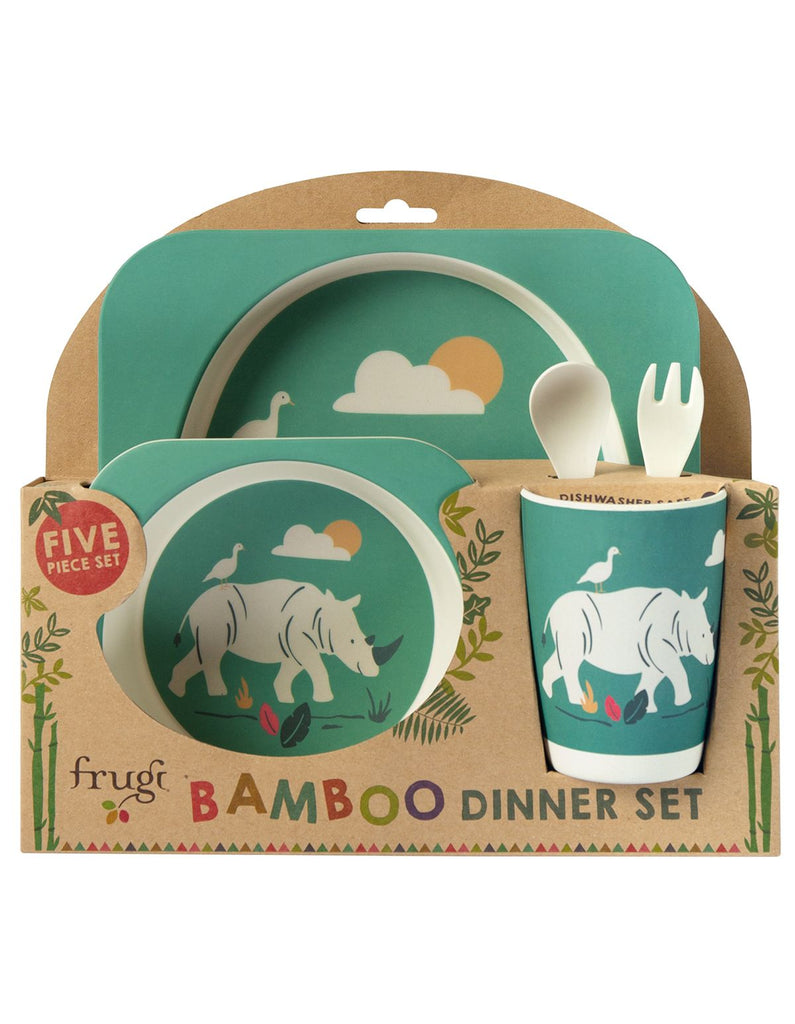 Frugi Bamboo Dinner Set-Rhino