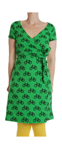 Adult Duns Green Bike Wrap  Dress