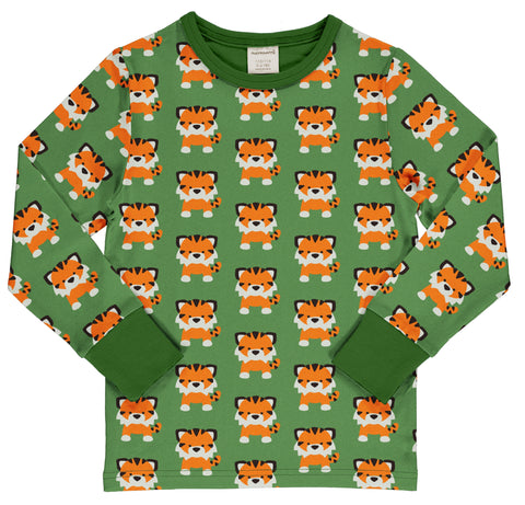 Tangerine Tiger Long Sleeve Top