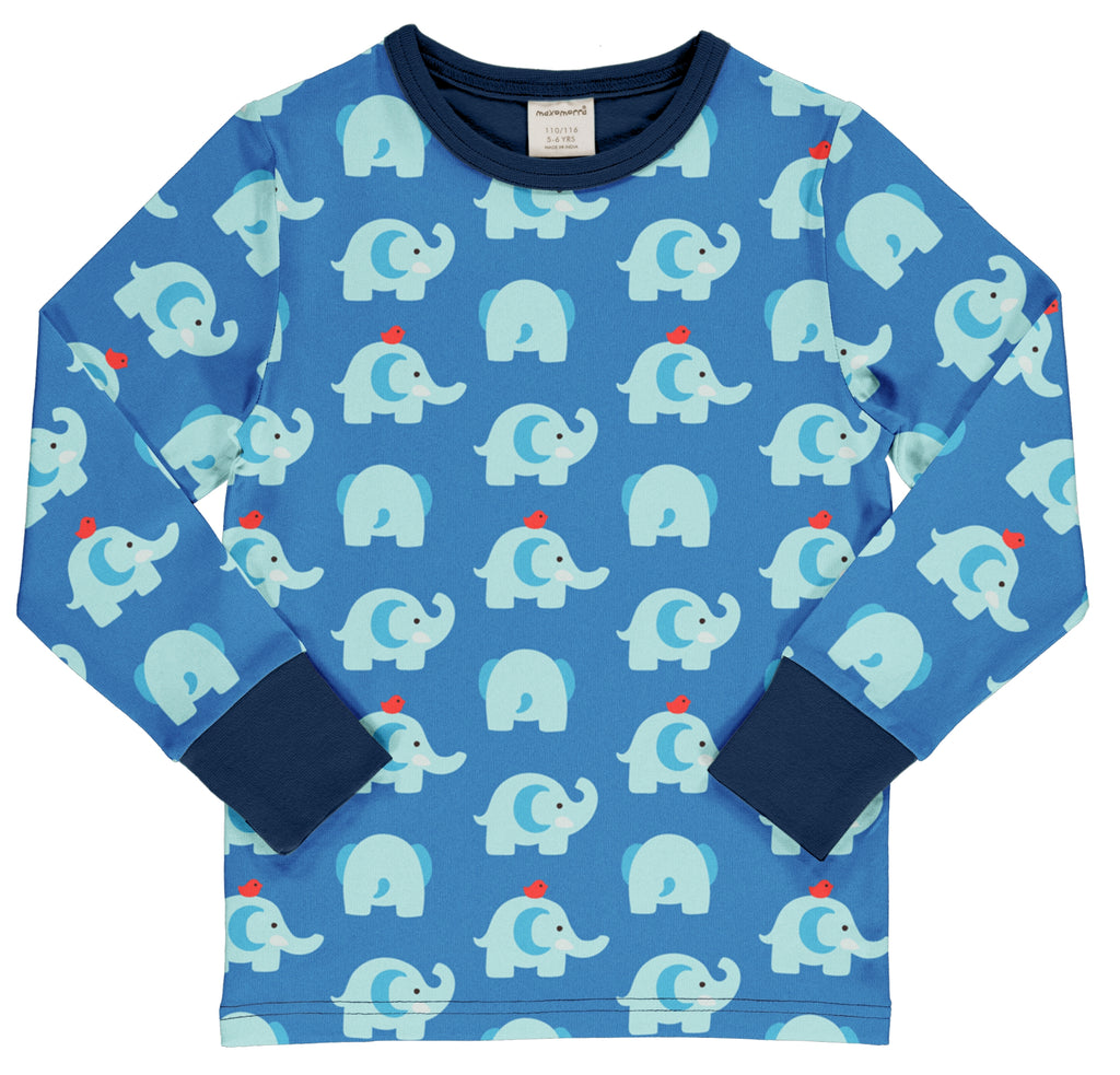 Elephant Friends Long Sleeve Top