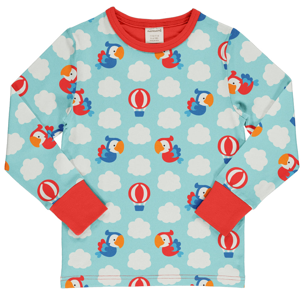 Parrot Safari Long Sleeve Top